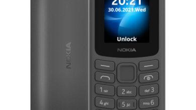 Nokia 105 4G Black